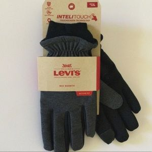 """Levi's """"InteliTouch"""" Active Fit Gloves"""